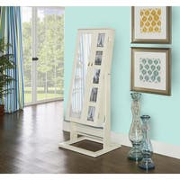 Powell Jasper White Photo Armoire
