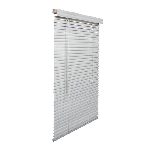 White 1-inch Aluminum Blinds 31 to 40-inch wide