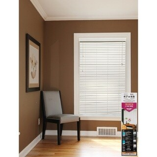 White Faux Wood 2-inch Blinds (More options available)