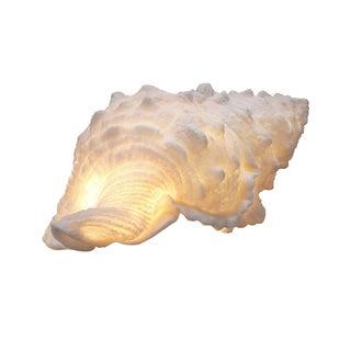 Handmade Resin Shell Tealight Holder