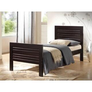 Donato Wenge Twin Bed (1Set/2Ctn)