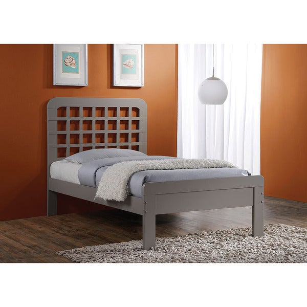 Lyford Grey Wood Queen Bed