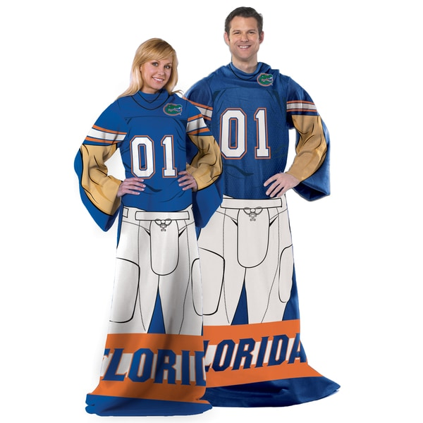 COL 024 Florida Gators Uniform Adult Comfy Throw