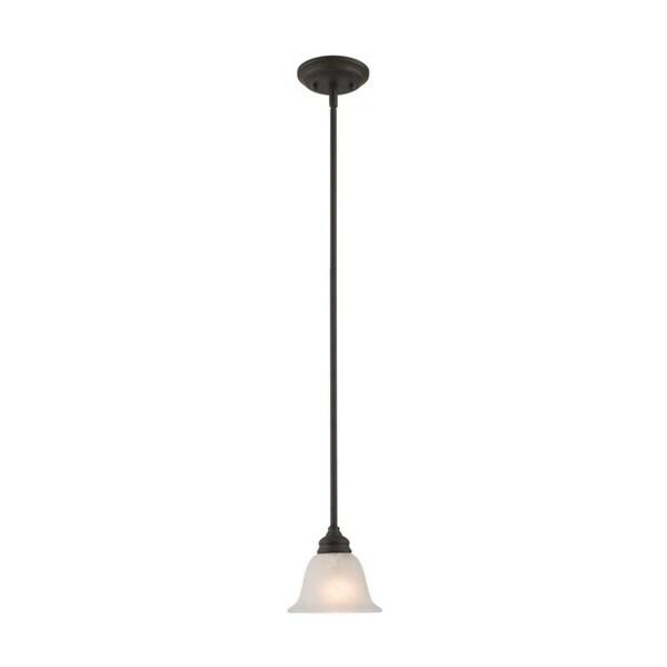 Livex Lighting Essex Bronze 1-light Mini Pendant - Brown
