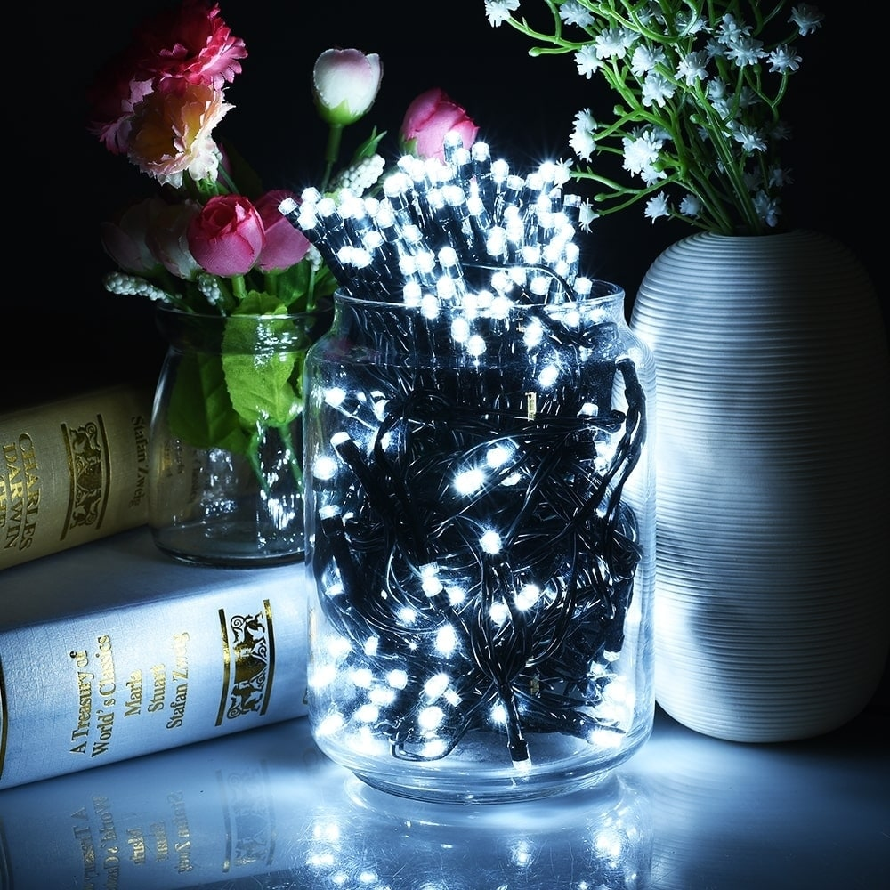 Coutlet Solar Powered 200 LED Eight-mode Waterproof Decor...