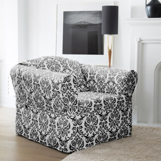 CoverWorks Chelsea 1-piece Wrap Relaxed Fit Chair Slipcover