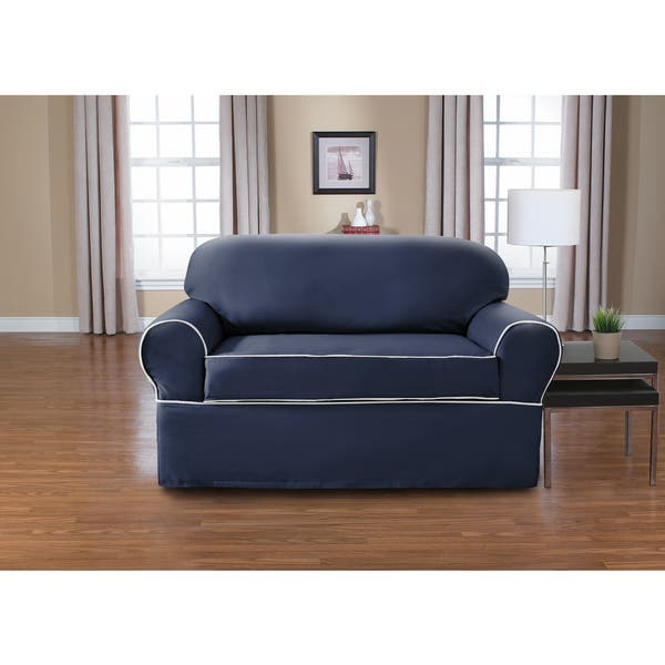 Prime Shop Coverworks Westport 1 Piece Relaxed Fit Loveseat Squirreltailoven Fun Painted Chair Ideas Images Squirreltailovenorg