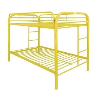 Thomas Yellow Metal Twin/Twin Bunk Bed