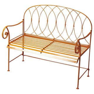Butler Ellipses Metal Bench