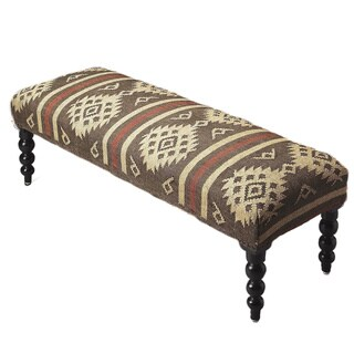 Butler Jute Upholstered Bench