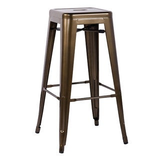 Kiara Bronze Bar Stool (Set of 2)