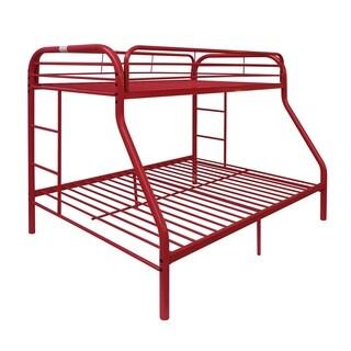 Tritan Red Twin/Full Bunk Bed