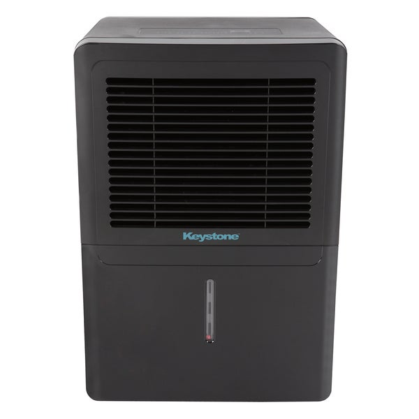 Shop Keystone KSTAD706B-BLK Black 70 Pt. Dehumidifier