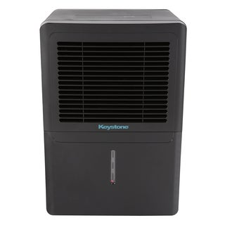 Keystone KSTAD506B-BLK Energy Star 50-pint Black Dehumidifier