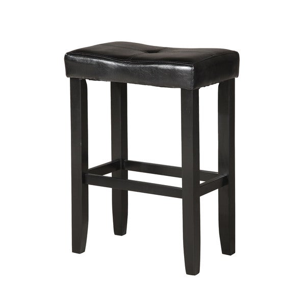 Micha Black WoodPolyurethane Bar Stool Set of 2 Free  : Micha Bar Stool Set 2 Black PU Black 5756b80a 90b5 4b4c b675 3b3e17ebbe9c600 from www.overstock.com size 600 x 600 jpeg 14kB