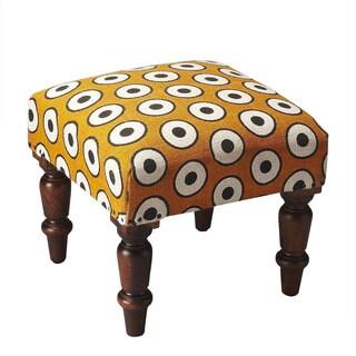 Butler Samina Cotton Upholstered Stool