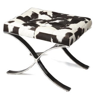 Butler Cortera Hair-on-hide Vanity Stool