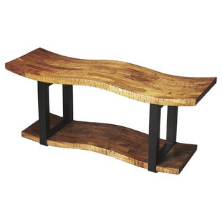 Butler Leopold Reclaimed Wood Bench