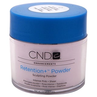 CND Retention + Powder Sculpting Powder Intense Pink 3.7-ounce Nail Care