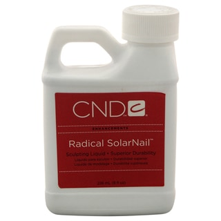 CND Radical SolarNail Sculpting Liquid 8-ounce Nail Care