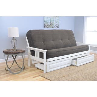 Somette Beli Mont Futon 2-drawer Antique White Frame and Mattress Set|https://ak1.ostkcdn.com/images/products/12037133/P18908801.jpg?impolicy=medium