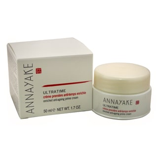 Annayake Ultratime Enriched Anti-Ageing 1.7-ounce Prime Cream for Normal Skin/Dry Skin