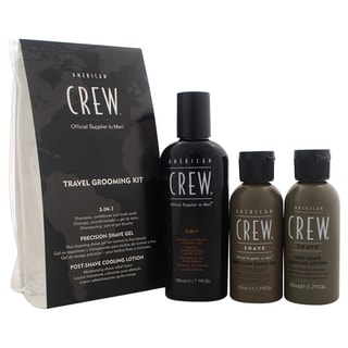 American Crew Men's 3-piece Travel Grooming Kit