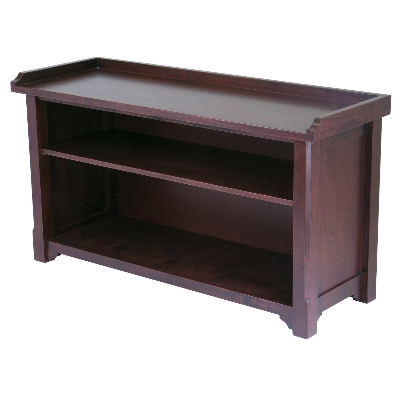 Winsome Milan Home Indoor Entryway Bench with Storage She...