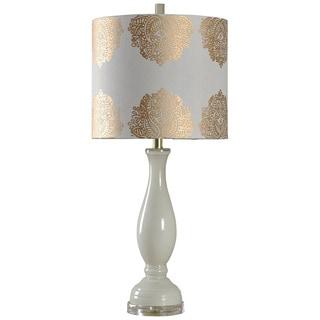 Journee Home 'Gilded Bloom' 32-inch Glass Table Lamp