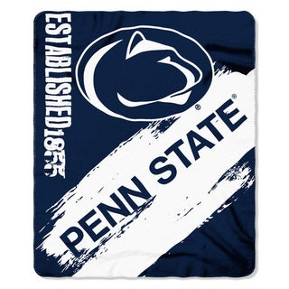 COL 031 Penn State Multicolored Polyester Painted Fleece Throw