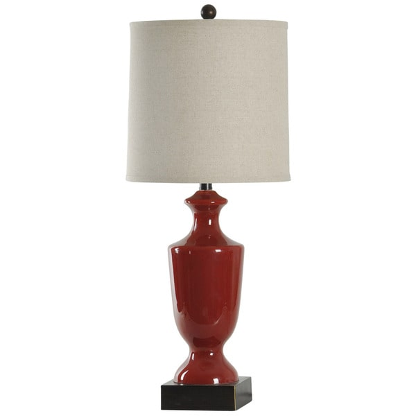 Journee Home 'Morocco' 31-inch Painted Glass Table Lamp