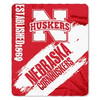 COL 031 Polyester Nebraska Painted Fleece