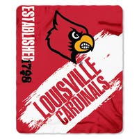 COL 031 Louisville Painted Fleece Throw