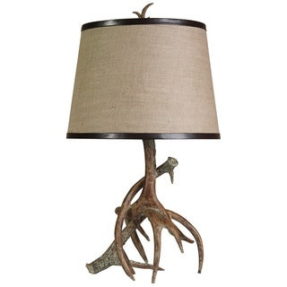 Journee Home 'Elk Lounge' 26.5-inch Antler Table Lamp