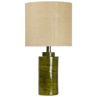 Journee Home 'Green reed' 19.5-in Modern Bamboo Table Lamp