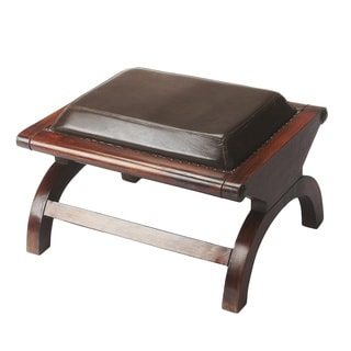 Butler Leather Stool