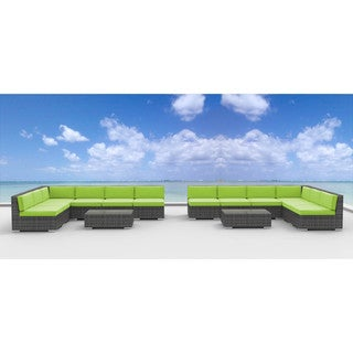 Urban Furnishing VENICE Wicker 14-piece Outdoor Sectional Sofa Set