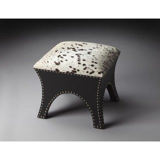 Handmade Butler Modern Expressions Wood Ottoman (India)