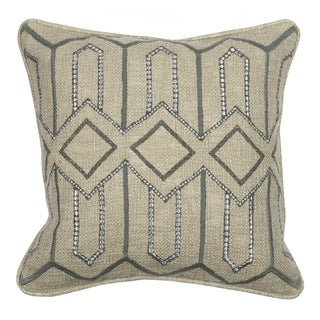 Kosas Home Evan Grey 18-inch x 18-inch Pillow