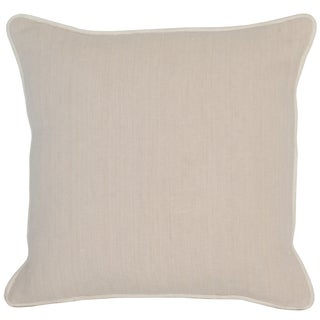 Kosas Home Aiden 18-inch Cream Linen and Cotton Feather and Down-filled Throw Pillow
