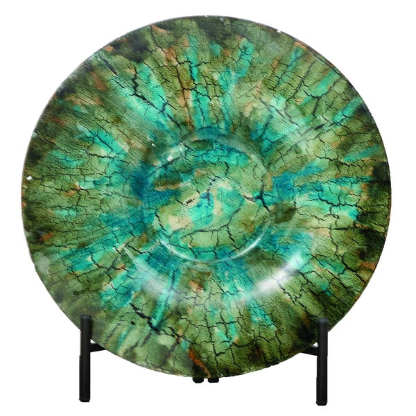 Shop Urban Designs Shades Of Green Glass Decorative