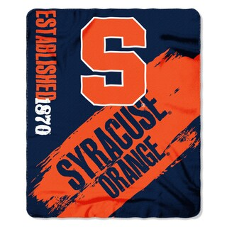 COL 031 Syracuse Painted Fleece Throw