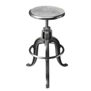Butler Parnell Iron Adjustable Swivel Bar Stool