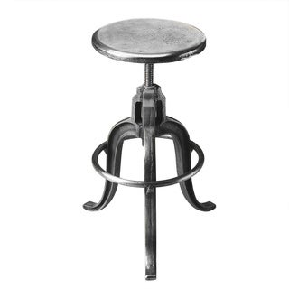 Butler Parnell Iron Adjustable Swivel Bar Stool