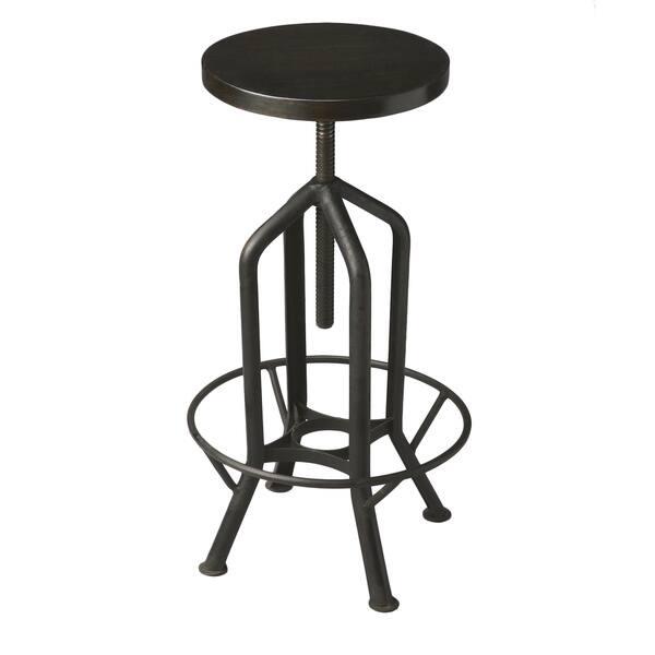 Peachy Handmade Butler Hampton Iron Revolving Bar Stool India Dailytribune Chair Design For Home Dailytribuneorg