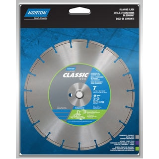 "Norton 02786 7"" Segmented Rim Diamond Saw Blade"