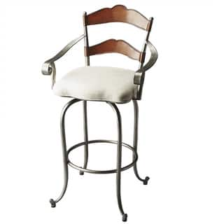 Butler Amberton Metal and Wood Bar Stool|https://ak1.ostkcdn.com/images/products/12037457/P18909176.jpg?impolicy=medium