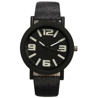 Olivia Pratt Women's Multicolored Denim Sport Watch