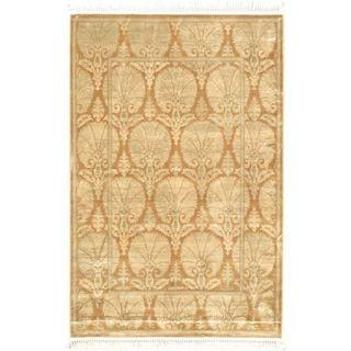 eCarpetGallery Persian Brown Viscose Rug (4'11 x 7'7)