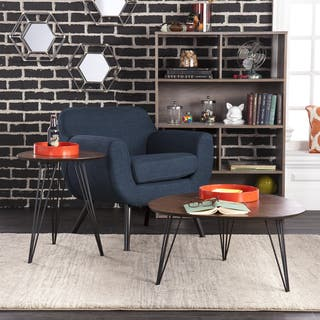 Holly & Martin Bannock 2pc Table Set - Dark Tobacco w/ Black|https://ak1.ostkcdn.com/images/products/12037485/P18909144.jpg?impolicy=medium